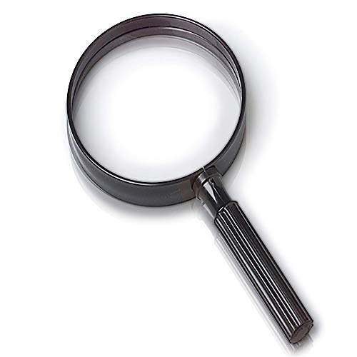 Detective Costume Ideas (ArtCreativity Giant Kids Magnifying Glass - 9 Inch Jumbo Magnifier - Fun Young Explorer and Adventure Toys for Boys and Girls, Spy Costume Prop, Cool Gift Idea or Party Favor)