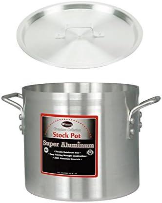 Heavy Weight Aluminum Winco USA Super Aluminum Sauce Pot 14 Quart