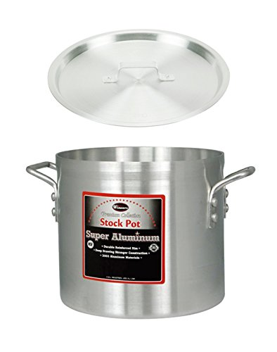 Quart Stock Pot Cover - Winco AXS-20, 20-Quart 12