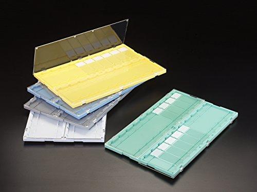 Simport SlideFolder M750-20W Polystyrene Microscope Slide Folder, White, 11-11/16