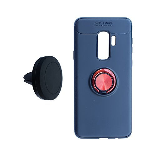 - Samsung Galaxy S9Plus Case + Car Cradle Set Apex Intuition (NOT S9 Case) Anti Drop Invisible Finger Ring/Stand, Magnetic Car Mount