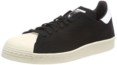 adidas Superstar 80s PK, Chaussures de Gymnastique Homme Noir (Core Black/Core Black/Footwear White 0)
