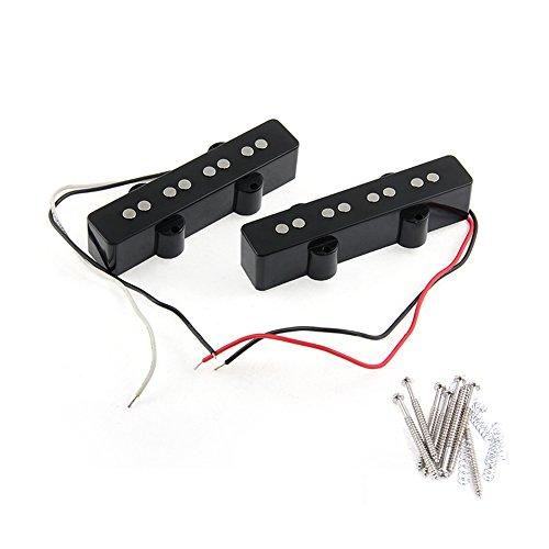 Set of 4 Single String Bass Bridges Black - 3