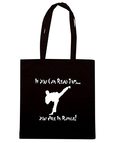 T-Shirtshock - Bolsa para la compra TAM0064 you are in range dark tshirt Negro