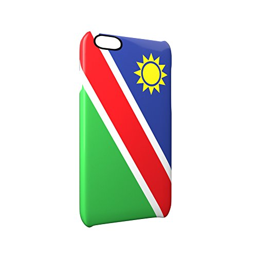 Flag of Namibia Glossy Hard Snap-On Protective iPhone 6 Plus + / 6S Plus + Case Cover