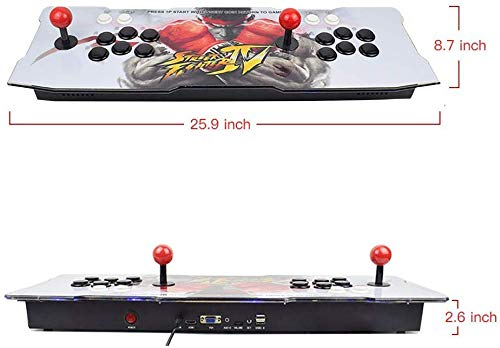 XFUNY Home Arcade Game Console 2350 in 1 Pandora Treasure 3D Arcade Machine with Arcade Joysticks for TV / Laptop / PC / PS4 / Switch by XFUNY (Image #5)