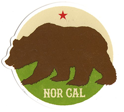 Nor Cal - Plymouth Skateboard Sticker - 10cm wide approx. skate snow surf board bmx guitar van sk8 (Best Scenic Drives In Northern California)