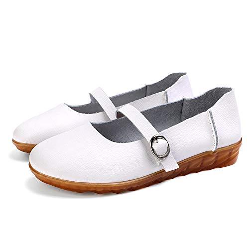 Chaussures Taille ZHRUI 38 Blanc EU Blanc coloré AdWqWS