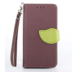 TOMYOU (TM) Wallet Card Holder PU Leather Pouch Flip Leaf Style Case Cover with Stand for Motorola Moto X xt1058 Brown
