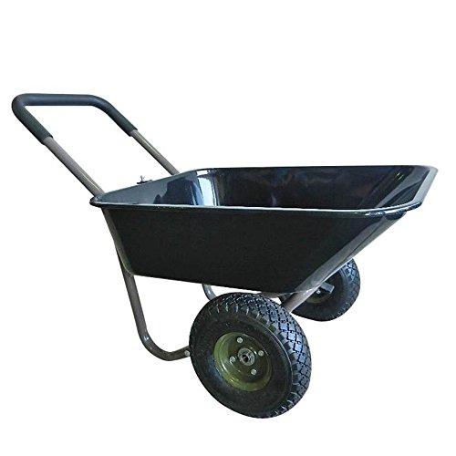 Comolife 2 wheels Compact Zippy Light Weight Garden Cart , Gardenbarow , Size : 23.01 x 39.78 x 21.06 Inch , Weight : 20.4 lb by Comolife