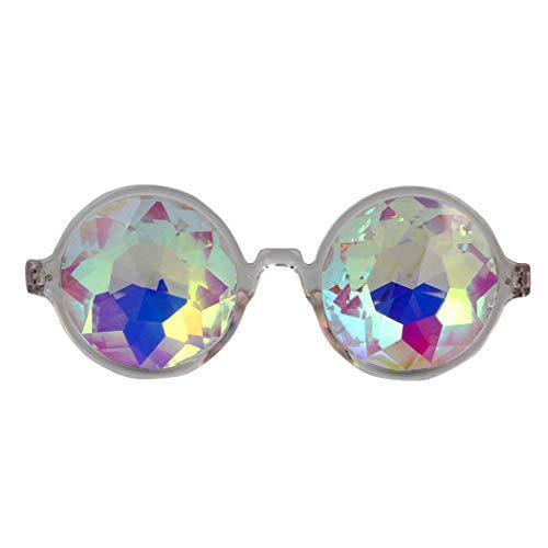 Amazon Prime Deals,Festivals Kaleidoscope Glasses Rainbow Prism Sunglasses -