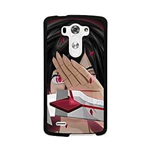 LG G3 Blood+ Anime Case, Shockproof Silicone Impact Rugged Armor Defender Case Cover