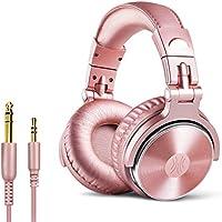 Casque DJ, OneOdio P10 Casque Audio Studio Professionnel, Casque Filaire, Casque de Monitoring, Son Parfait pour...