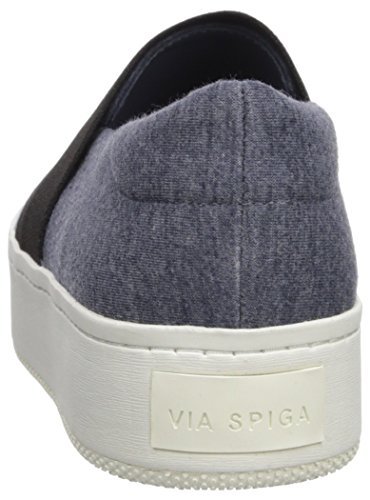 Via Spiga Vrouwen Traynor Slip Sneaker Denim Jersey