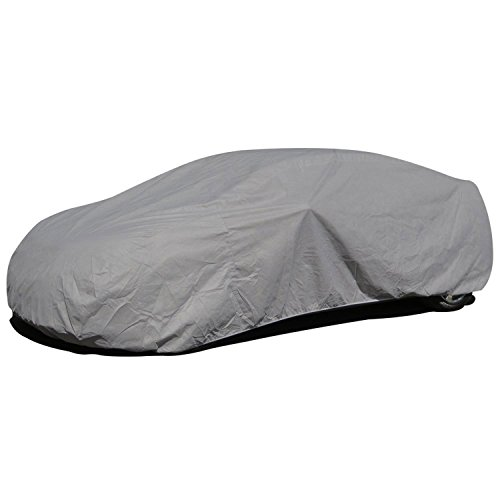 Budge Lite Station Wagon Cover Fits Station Wagons up to 184 inches, SB-1 - (Polypropylene, Gray) (Matrix Station Toyota Wagon)
