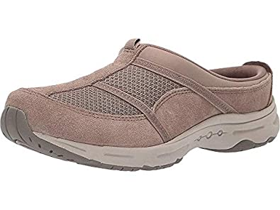 f380ed80a690e Amazon.com | Easy Spirit Women's Argyle Taupe 9 W US | Shoes