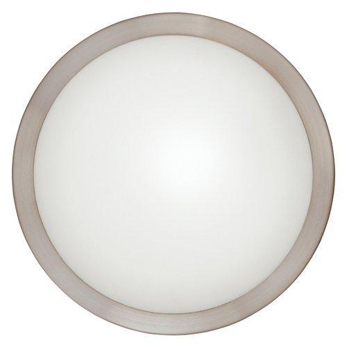 Billiard Sconce Light (Eglo 87329A Arezzo Wall/Ceiling Light, Matte Nickel)