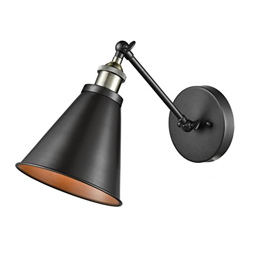 CLAXY Ecopower Vintage Style Simplicity Wall Swing Arm Lamp (Arm Swing Vintage)