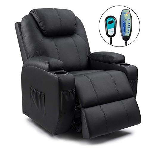 Homall Power Lift Recliner Chair with Massage Single Living...