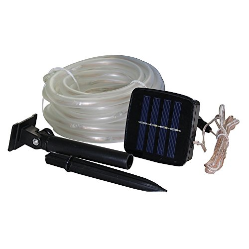 50 Solar Led String Lights Blue : JulyFire 16.5 Foot Blue Solar Powered Rope Light 50 LED Waterproof, Use New eBay