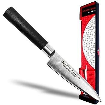 Amazon.com: shimomura-kogyo tsunouma cuchillo para deshuesar ...