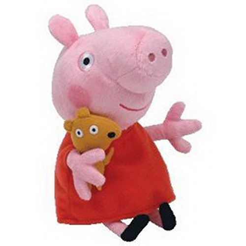 AmazingOS® Babies Peppa Pig Regular Plush Toy George Doll Stuffed Animal Soft Gift (Peppa & George)