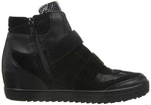 B Geox Vit negras altas C9999 Scam D mujer H para Sin Amaranth Zapatillas wqHUtSq