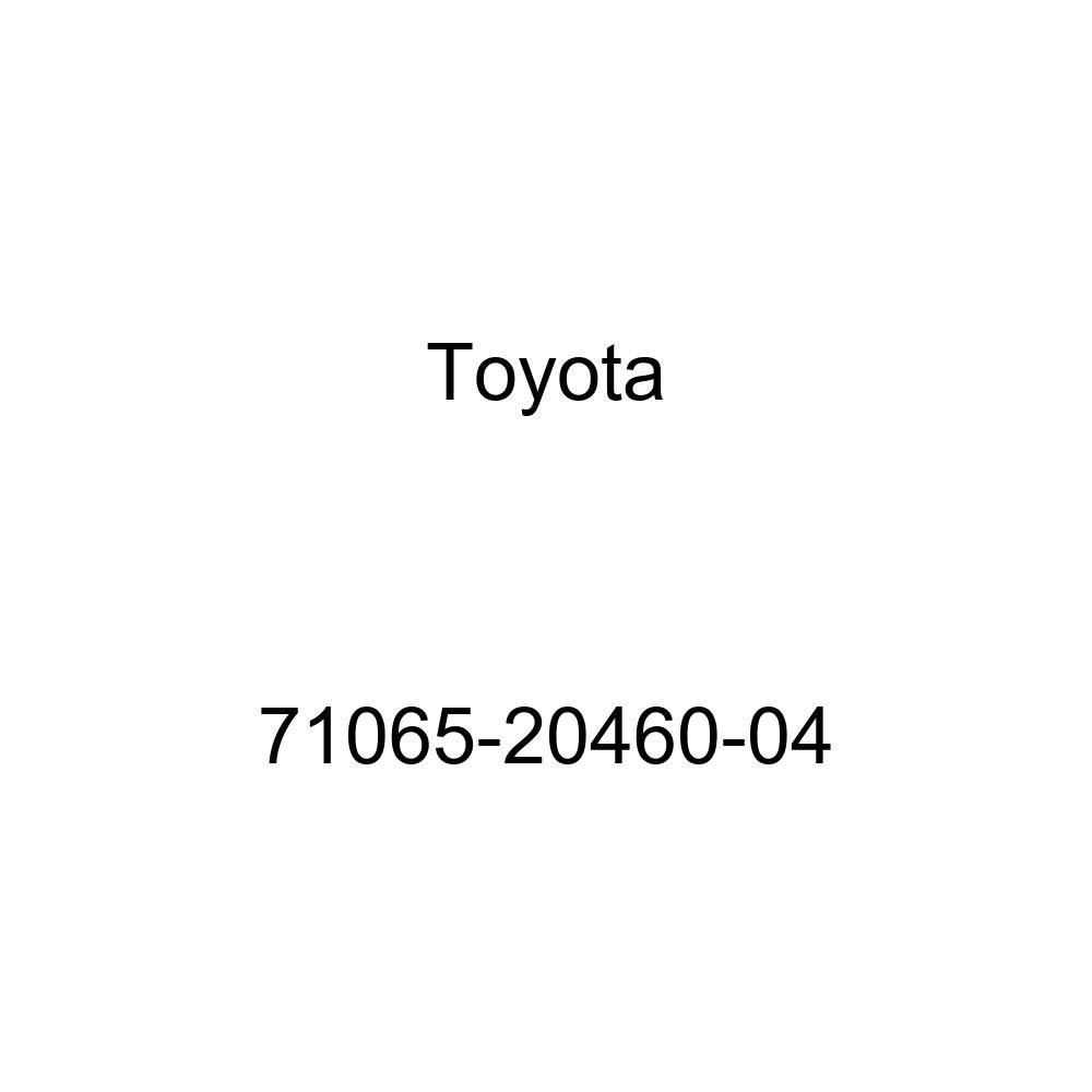 TOYOTA Genuine 71065-20460-04 Seat Cushion Cover