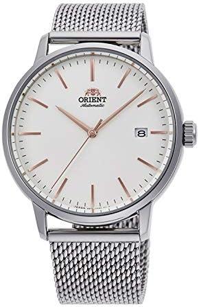 [オリエント時計] 腕時計 コンテンポラリー contemporary Basic Concept ベーシックコンセプト メッシュ RN-AC0E07S メンズ シルバー