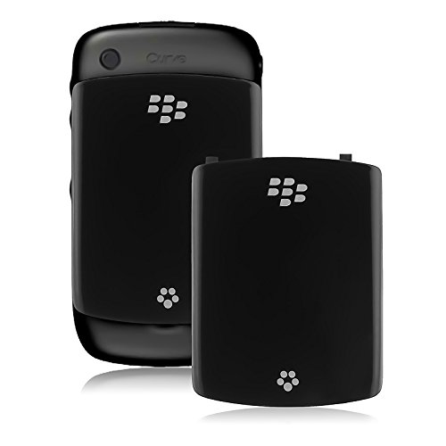 Blackberry Curve 8520 Cover - OEM Replacement Spare Battery Cover Door ASY-24251-001 for BlackBerry Curve 8520 / 8530 (Black)