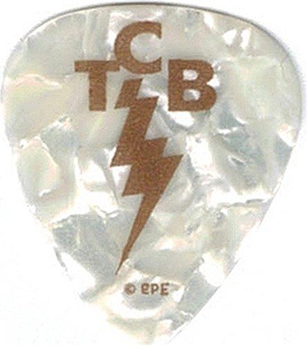 Elvis Presley TCB Logo Plastic Guitar Pick [1.25