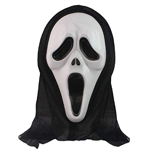 Lingduan Halloween Face Mask / Screaming Mask /