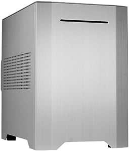 Cooltek W1 HTPC Plata Carcasa de Ordenador - Caja de Ordenador (HTPC, PC, Aluminio, Acero, Mini-ITX, Plata, 21,5 cm): Amazon.es: Informática
