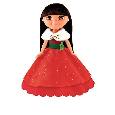 - Nickelodeon: Holiday Sparkle Dora Doll - Dora the Explorer