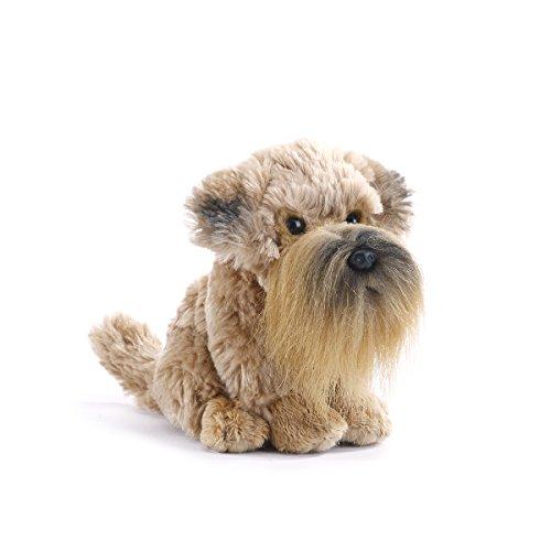 Demdaco Baby Plush Beanbag, Wheaten Terrier