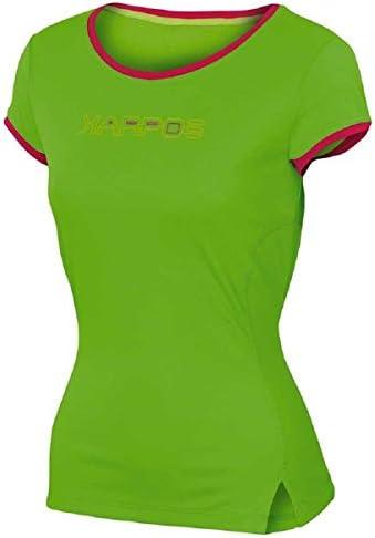 Karpos Futura Jersey Shirt Women - Apple Green/Raspberry