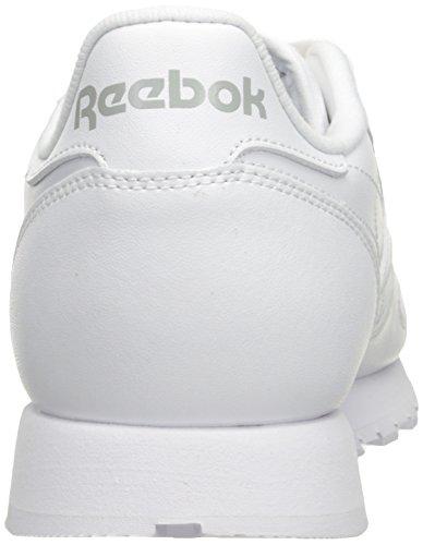 Reebok ReebokCL Lthr-M_K - Klassiches Leder Herren White/White/Light Grey