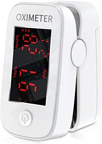 Mommed Pulsímetro Oxímetro de Pulso con Alarma,Lecturas Precisas SpO2,Indice de Perfusión, Oxígeno en Sangre,Frecuencia del Pulso,BPM Para Deportistas,Mayores