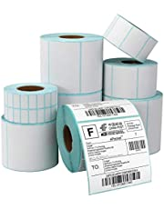 Thermal Printing Label Roll Self Adhesive Sticker Direct thermal printing paper barcode label mutiple size available