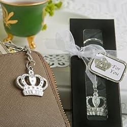 Majestic Crown Key Chain Favor (24 pieces)