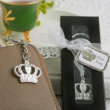 Majestic Crown Key Chain Favor (24 -
