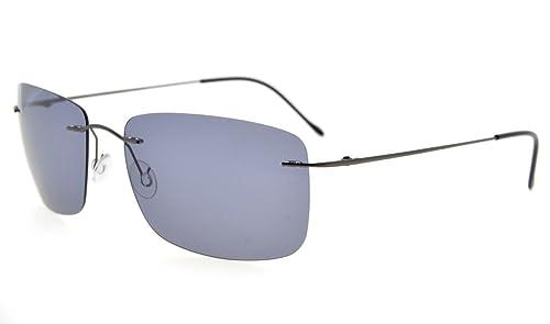 Eyekepper Titanio montatura occhiali da sole con lenti polarizzate TAC
