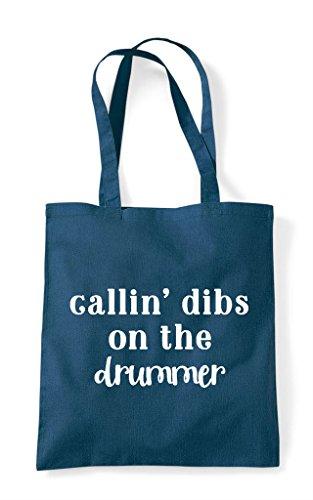 Bag Statement Tote Petrol Dibs Shopper Calling Drummer On The xIYBwWHRq