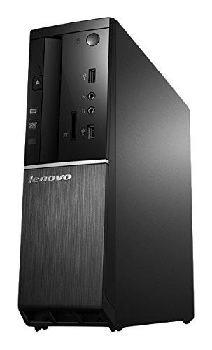 Lenovo ideacentre 510S Desktop PC (Intel Celeron G3900, 2,8GHz, 8GB RAM, 500GB HDD, Intel HD Grafik 510, DVD-Brenner, Windows 10 Home) schwarz