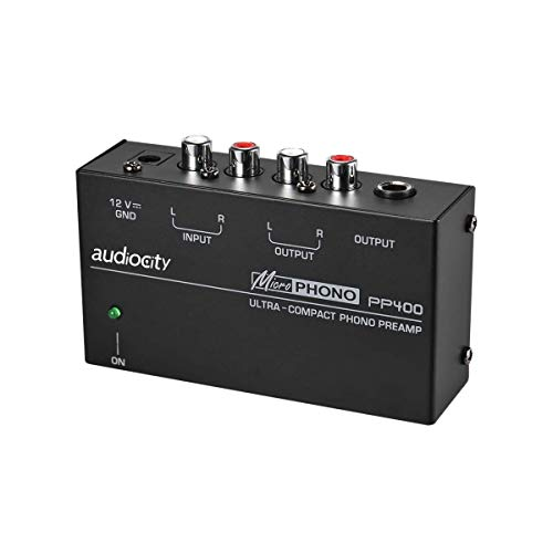 Audiocity PP400 - Preamplificador previo de Phono. Salida ...