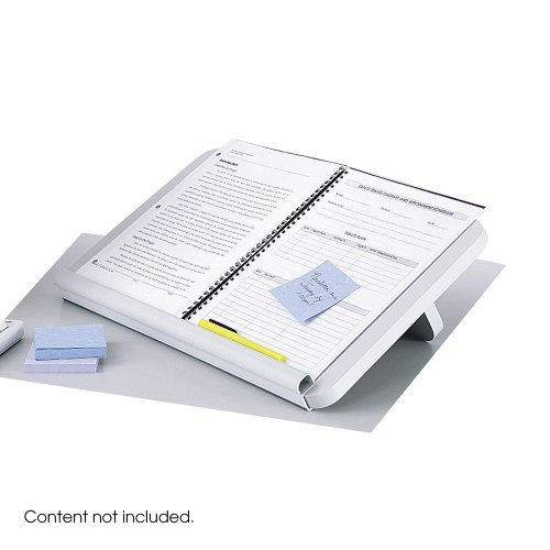 Safco Ergo Comfort Copyholder - SAFCO PRODUCTS 2156BL Ergo-Comfort Read/Write Freestanding Desktop Copy Stand, Wood, Black