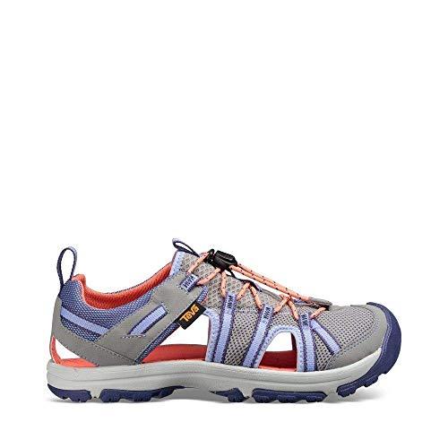 Teva Girls' Y Manatee Sport Sandal, Wild Dove, 4 M US Big Kid (Teva Shoes Sport)