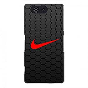 Custom Nike Just Do It Brand Classical Logo Phone Case,Case Cover For Z3 mini,Protective Phone Case For Z3 mini