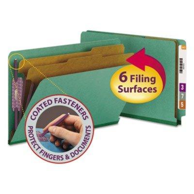 SMD29785 - Smead Pressboard End Tab Classification Folders