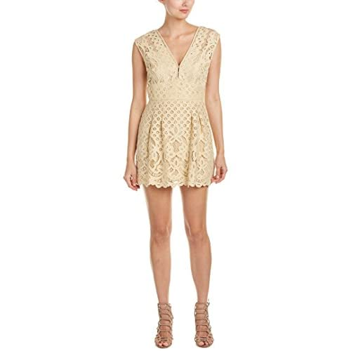 Nice Free People Womens Lace Pleated Cocktail Dress for sale